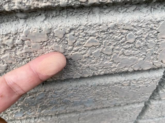 壁のチョーキング現象