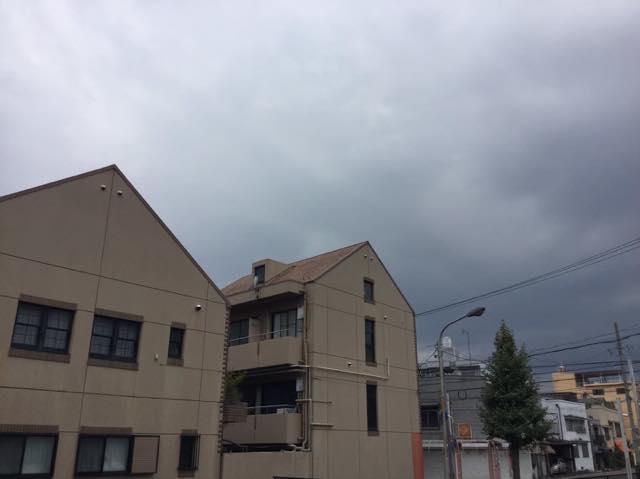 アパートの屋根塗装