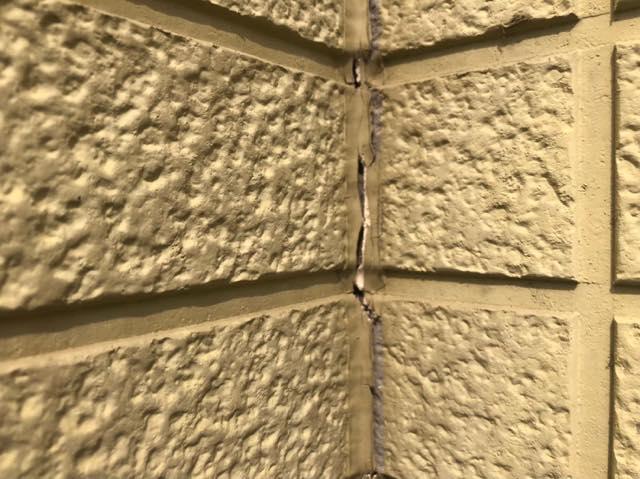 家の壁の劣化