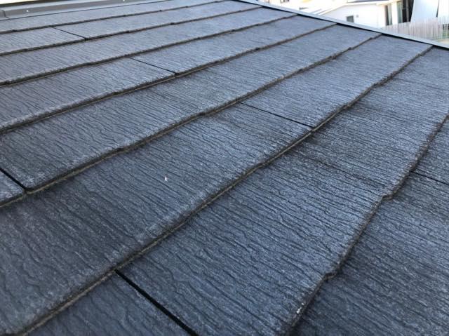 施工前スレート屋根