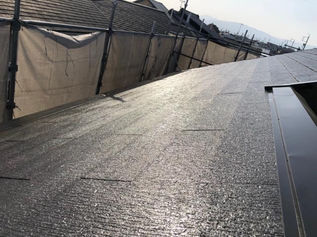 施工後スレート屋根