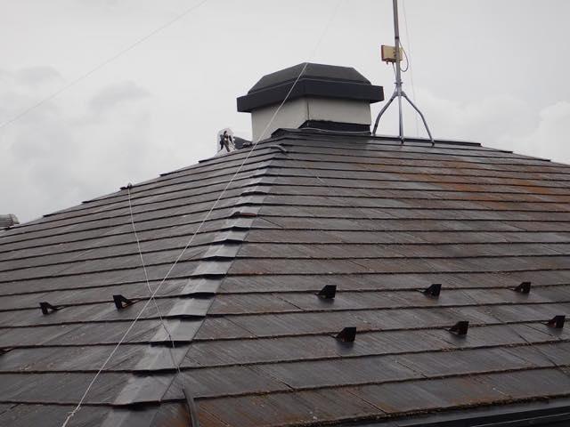 これがスレート屋根です