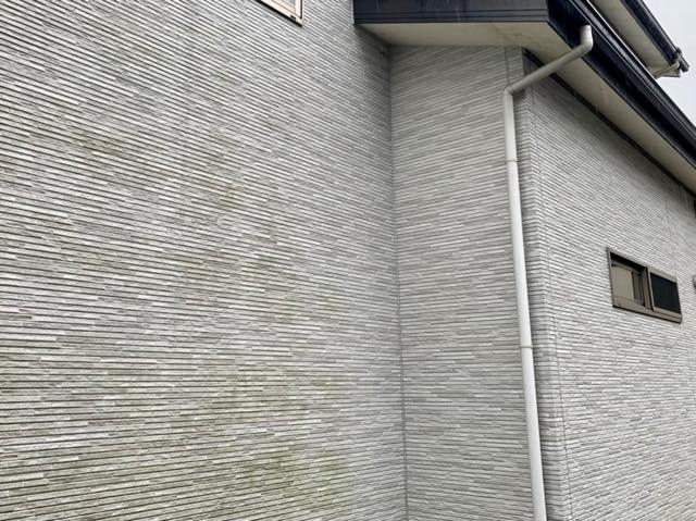 施工前の外壁の汚れ
