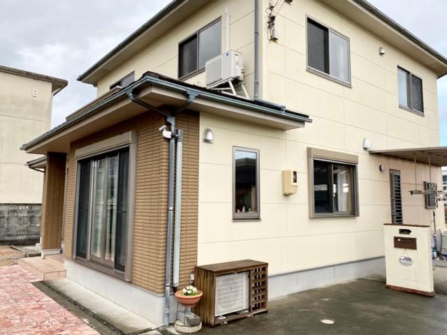 外壁屋根塗装する予定の現場