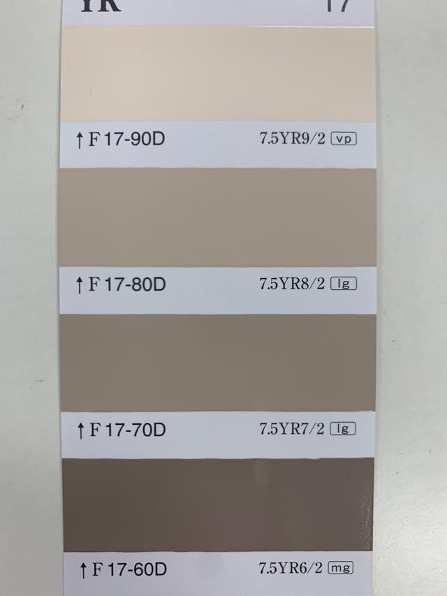 室内でのベージュ塗料