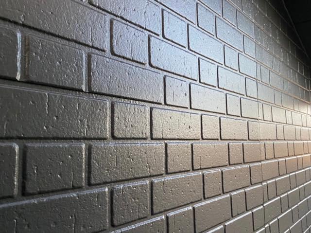 塗装後のサイディング壁