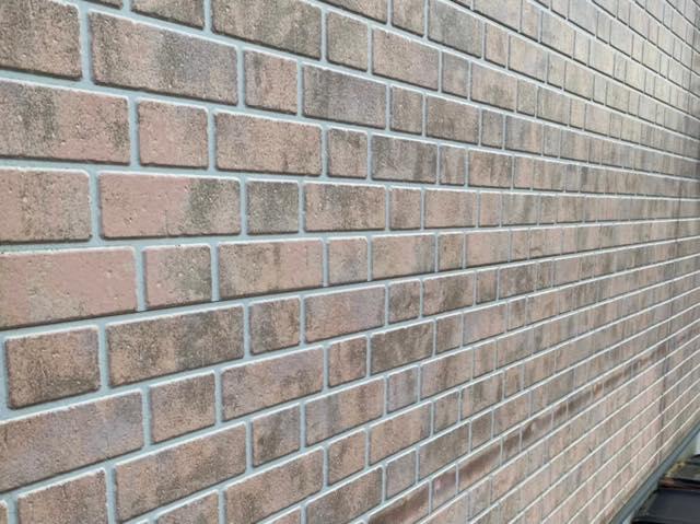塗装前のサイディング壁