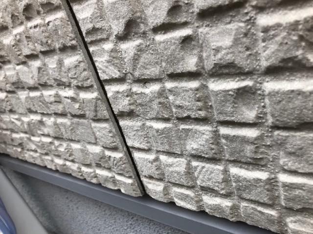 外壁のそり