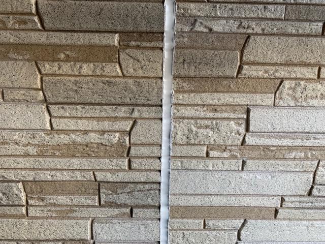 サイディング壁とシーリング